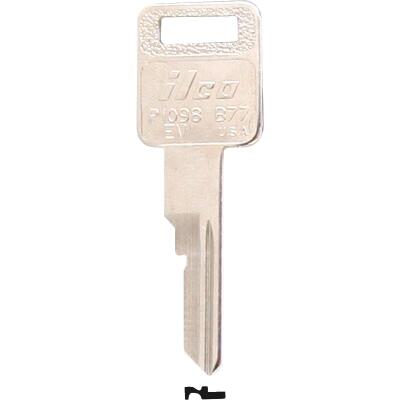 ILCO GM Nickel Plated Automotive Key, B77 (10-Pack)