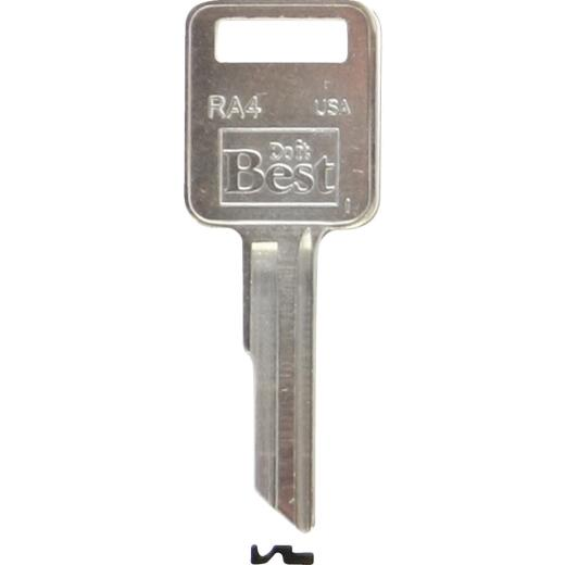 Do it Best AMC Nickel Plated Automotive Key, RA4 (10-Pack)