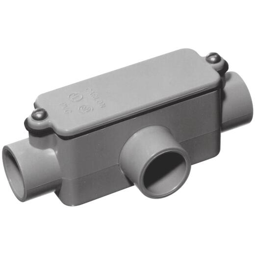 Carlon 2 In. PVC T Access Fitting