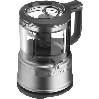 KitchenAid 3.5 Cup Silver Food Processor